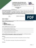 Segunda Evaluación HSI 2014 2