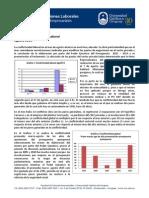 Informe de Relaciones Laborales - Agosto 2015