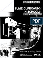 Fume Cupboards in Schools