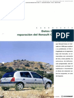 Datos Técnicos Para La Reparación Del Renault Clio II