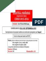 Cartel Ludo 2015-2016