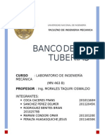 Laboratorio 4 Banco de Tuberias