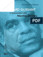 Edouard Glissant- Transcript From World in Relation