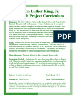 Martin Luther King, Jr. Curriculum Guide