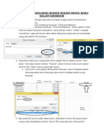 Panduan Memasukan Nomor Rekam Medis Dalam Database
