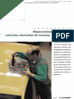 Reparaciones de Techos en Vehículos Derivados de Turismo