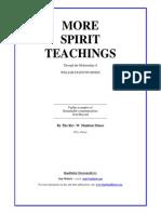 Rev. W. Stainton Moses - More Spirit Teachings