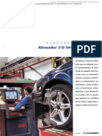 Alineador 3D SAC 4000 de SUN
