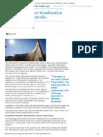Southern Seawater Desalination Plant (SSDP) - Water Technology