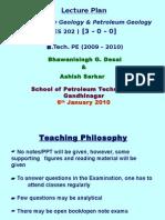 B.tech IV 1st Lecture