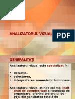 Analizatorul Vizual - Curs an II, Fac. Medicina (Umana).ppt