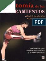 Anatomía de Los Estiramientos PDF