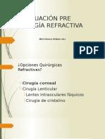 Cirugía Refractiva Evaluación Preqx