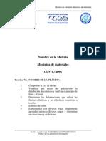 Prácticas de Mecánica de Materiales IEM E 2007 E 2008 (2)