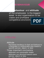 Attiude and Behavioures