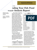 Understanding Your Fish Pond Water Analysis Report