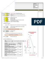 Ciria 108 - Pressure Analysis