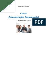 Curso Comunicação Empresarial