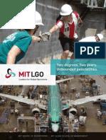 MIT LGO Brochure