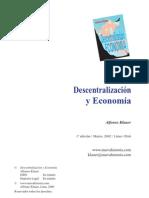 Descentralizacion y economia
