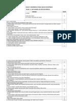 Checklist Anamnesis Pada Kasus Respirasi