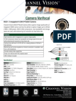 Channel Vision 6522 Data Sheet
