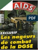 Nageurs de combat de la DGSE (RAIDS n°270)