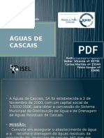 ÁGUAS de CASCAISapresentaçãotrabalhofinal