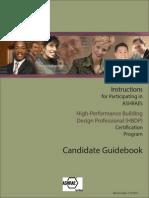 HBDP Certification Catalog