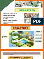 DESASTRES Emergencias