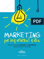 [eBook] Marketing Pe Intelesul Tau - [Www.vismark.ro]