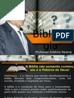 Aula de Bibliologia - ESTEADEMS (Professor Antônio Pereira)