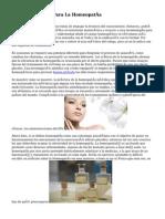 Diez Argumentos Para La Homeopatía