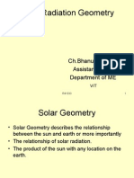 Solar Geometry .ppt