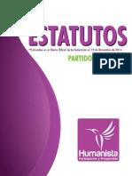 Estatutos Partido Humanista
