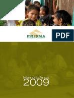 Memoria Anual 2009 Prisma