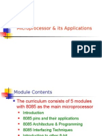 Microprocessor & Its Applications