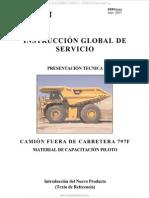 Manual Camion 797f Caterpillar Motor c175 20 Componentes Sistemas Flujos Funcionamiento