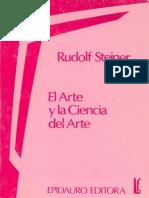 34641732 Steiner Rudolf El Arte y La Ciencia Del Arte
