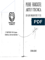 Pierre Francastel Arte y Técnica