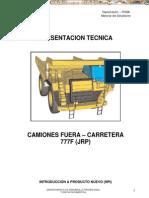 Manual Capacitacion Presentacion Tecnica 777f Caterpillar