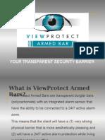 viewprotect armed bar presentation pa