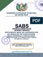 DOCUMENTO BASE DE CONTRATACIÓN DE SERVICIOS DE CONSULTORIA  PARA EMPRESAS CONSULTORAS