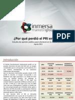 Encuesta Inmersa Research ¿Por qué perdió el PRI en León?