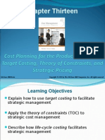 Chap013 Target Costing Constraint