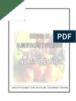 Norma Técnica Servicio de Alimentación y Nutrición_ MINSAL 2005