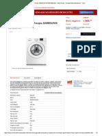 Máquina de Lavar Roupa Samsung Wf80f5e0w2w - Máq