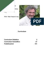 Pier Luigi Capucci - Curriculum Italiano