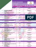 3105 Schedule FIEO Calander 2015