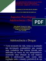 Adolescencia - Aspectos Psicologicos e Drogas PRONTO